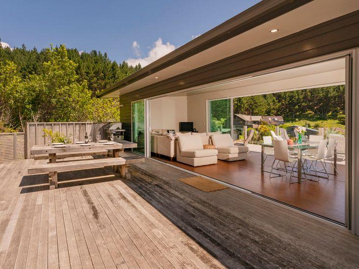 Seamless indoor/outdoor flow!