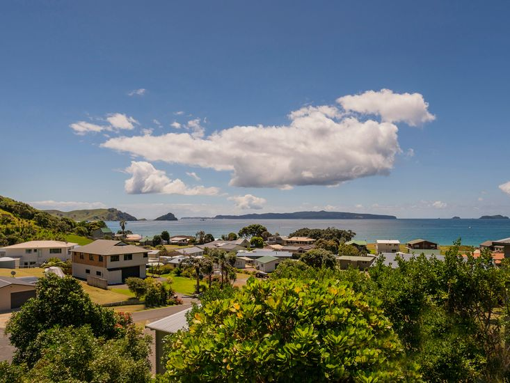 Views out Opito Bay