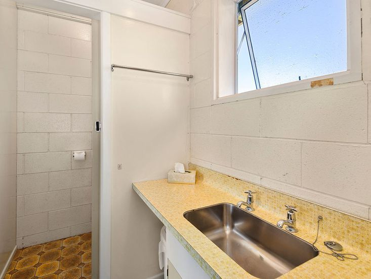 Downstairs bathroom - Can only be accessed externally.