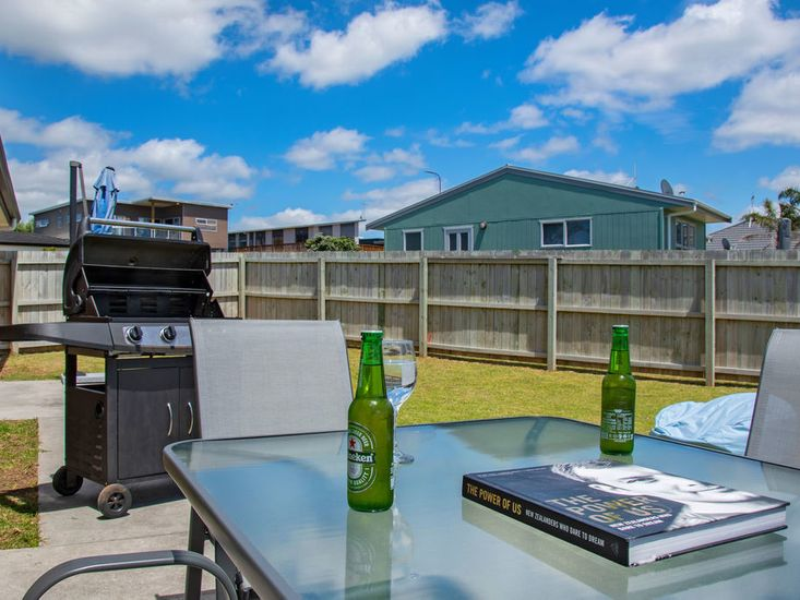Enjoy a Beer and BBQ!