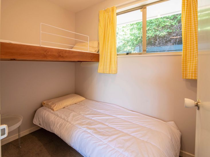 Bedroom Three - Please be aware that the top bunk is unavailable for guest use.