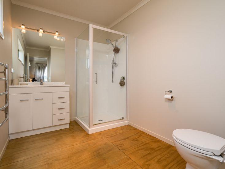 Bathroom in sleepout