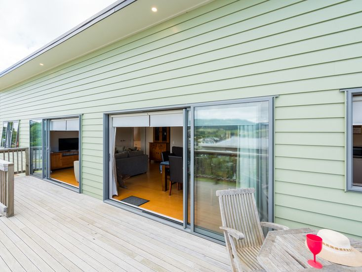 Indoor / Outdoor flow onto the decking and views