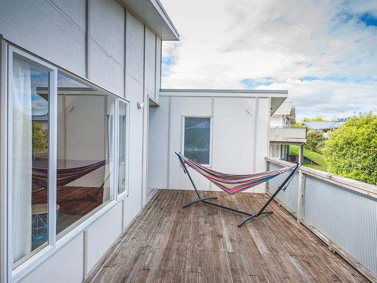Hammock on the Deck for Ultimate Relaxation!