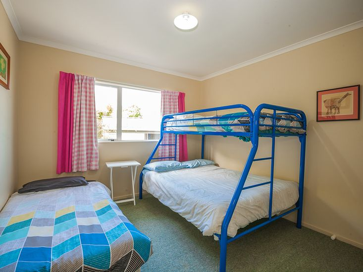 Bedroom with Single and Double Bunk - Room for the Whole Family!