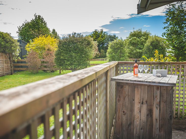 Sunny Outdoor Living at Te Awha Retreat!