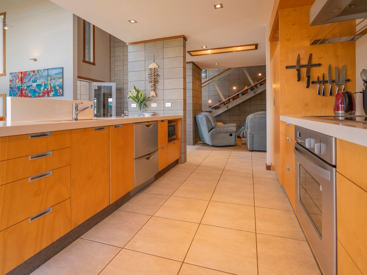 Generous fully equipped kitchen