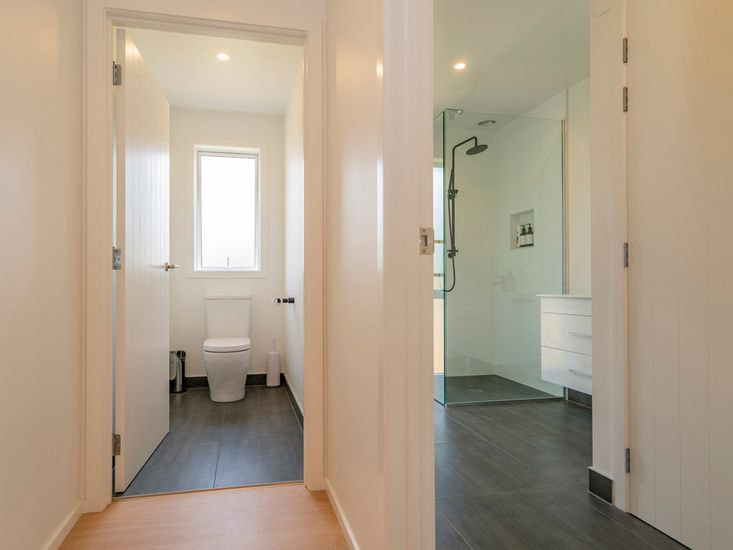 Separate toilet and bathroom