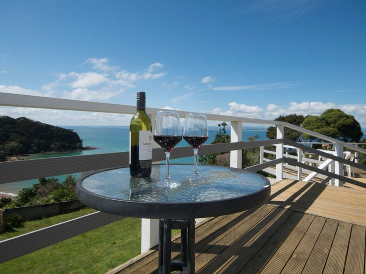 Outdoor dining with stunning views