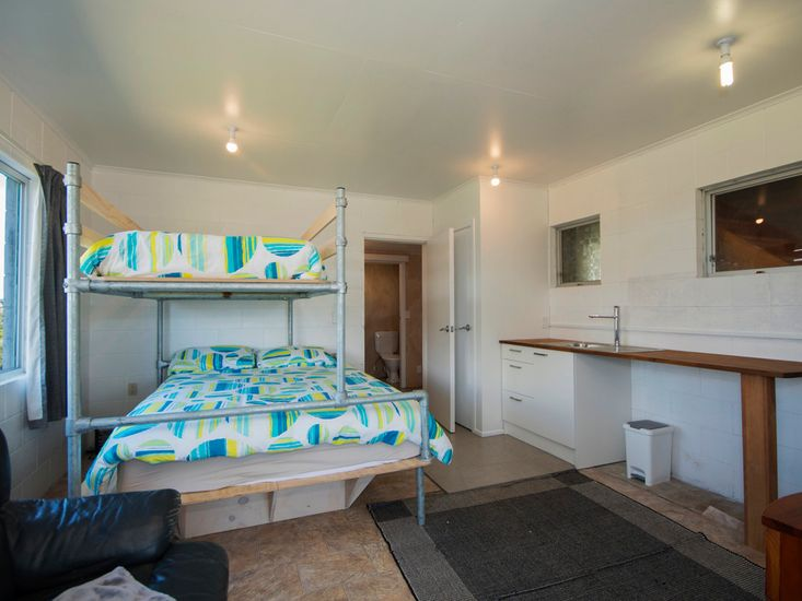 Downstairs kitchenette and bedroom 3