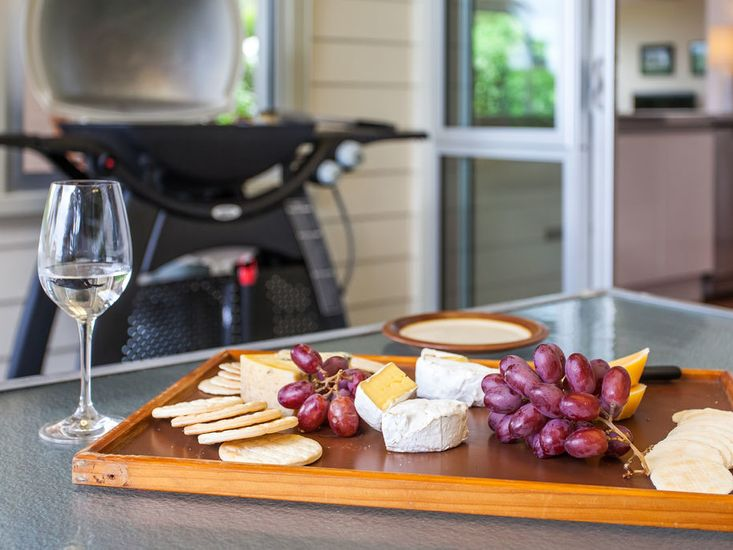 Perfect Spot for a Cheese Platter!