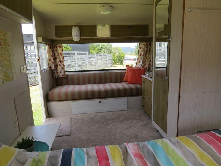 Living Area in the Caravan
