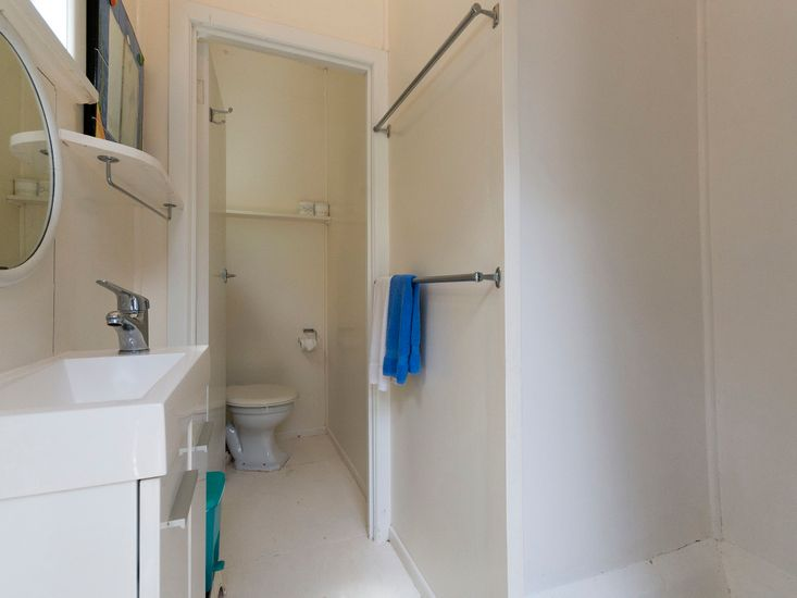 Bathroom - Accessed externally but is located right next to the front door