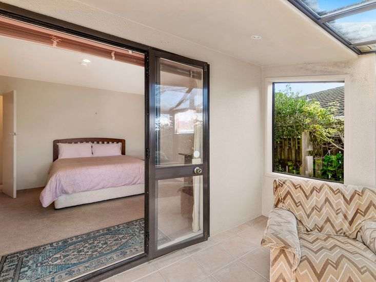 Master Bedroom opening onto Sunroom
