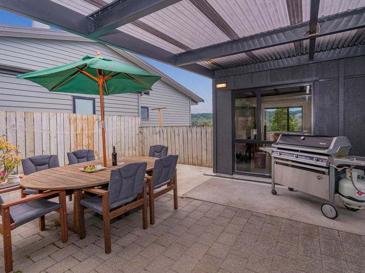 BBQ Area on the Covered Patio