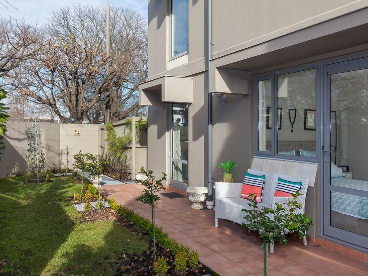 Outdoor garden and patio
