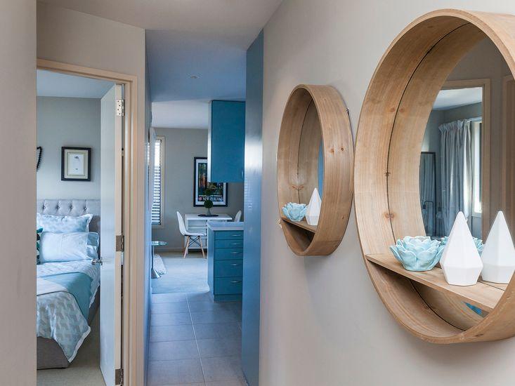 Hallway onto bedroom