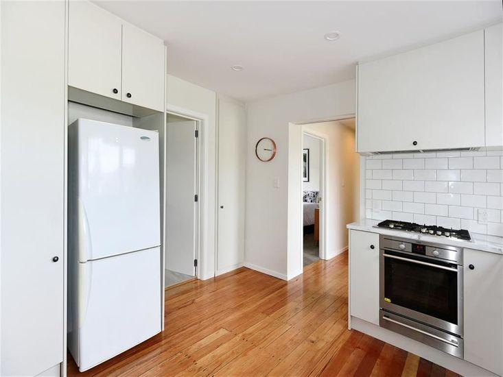 Kitchen onto hallway