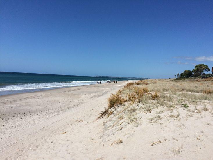 Nearby Papamoa Beach