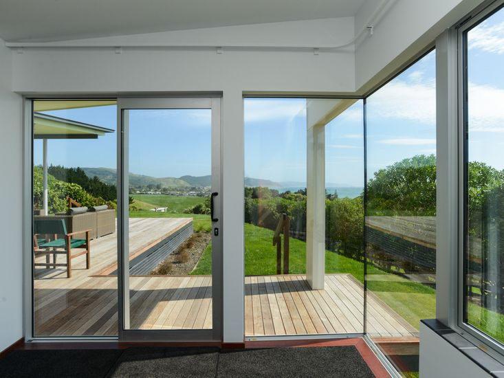 Views of the ocean from the master bedroom