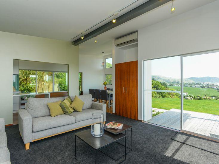 Lounge onto dining room