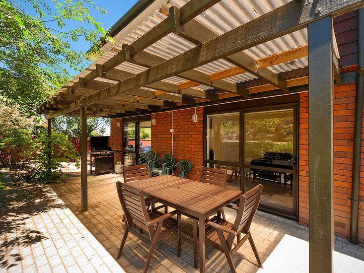 Covered BBQ Area and Outdoor Dining
