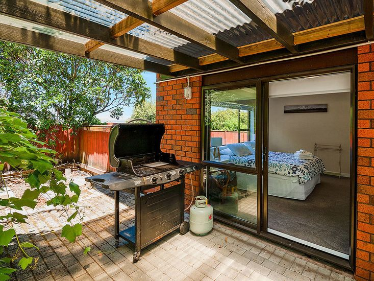 Covered BBQ Area