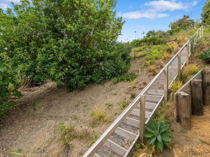 Steps to Picnic Area