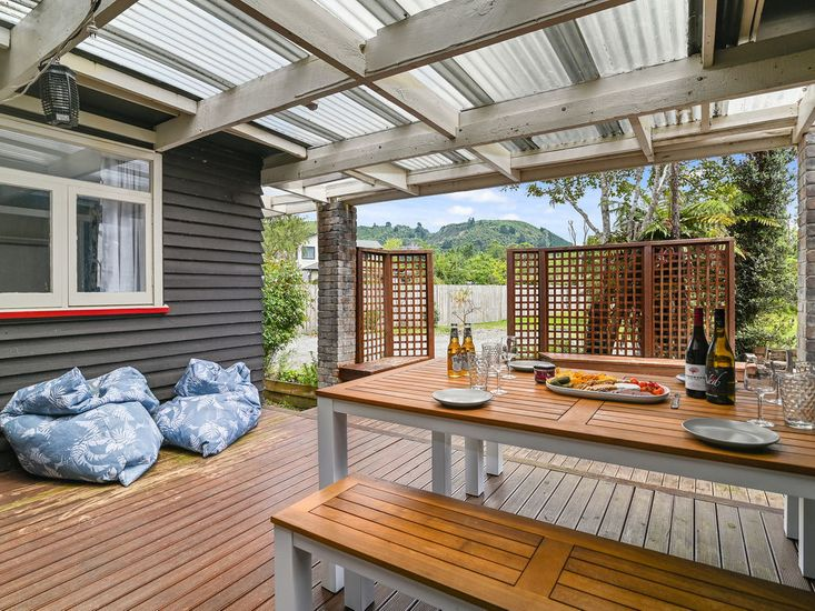 Sheltered outdoor living