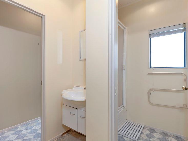Games room bathroom