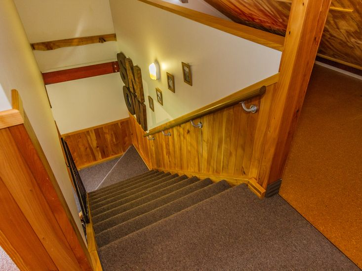 Heading Upstairs