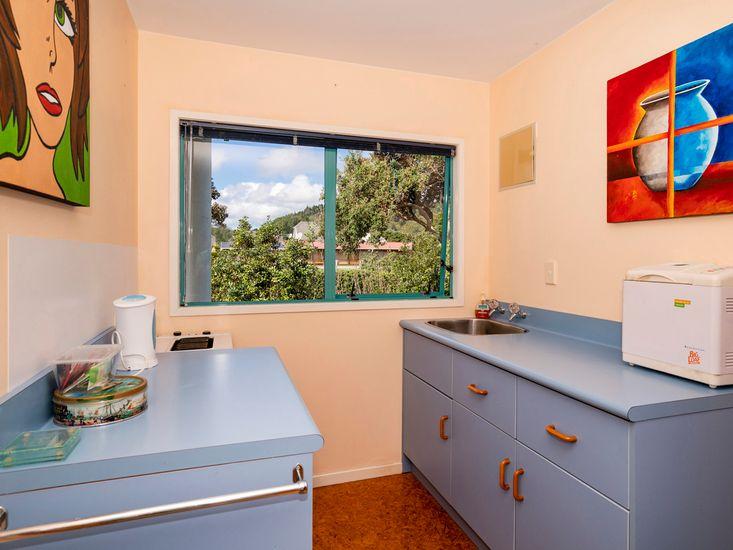 Downstairs kitchenette