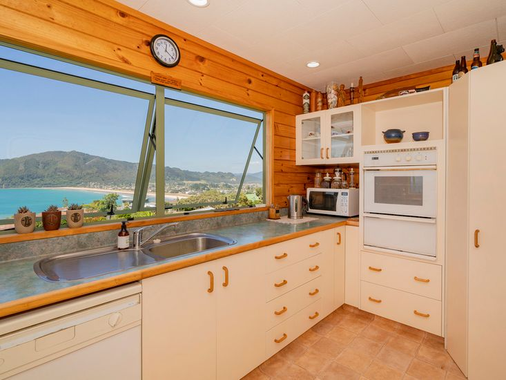 Stunning Sea Views from the Kitchen