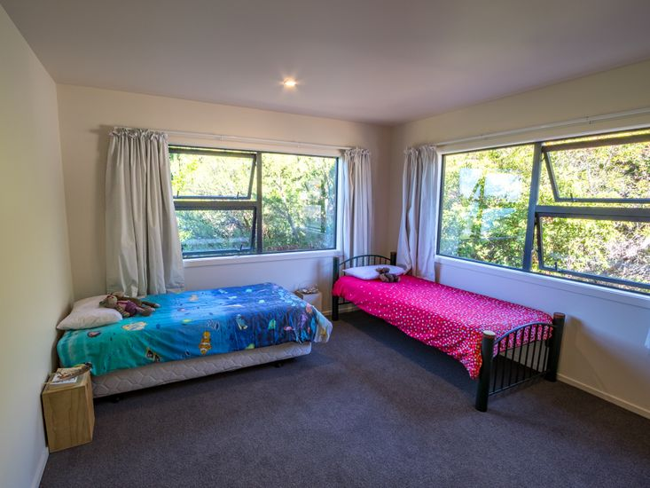 Bedroom 2 *Fitted with a queen bed and a single bed now. Photo to be updated*