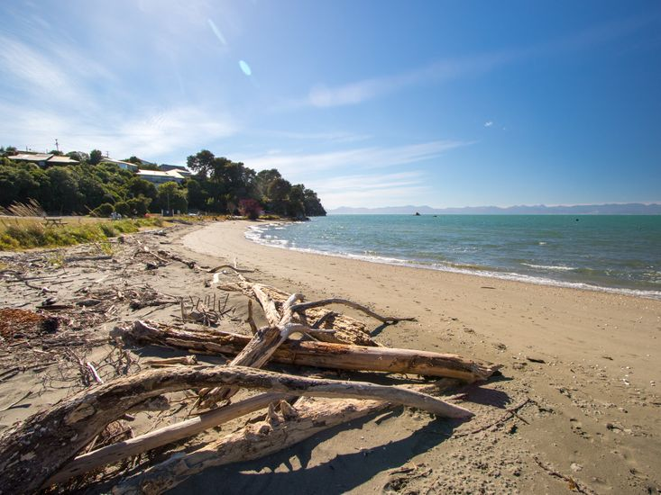 Local beach - not taken from property
