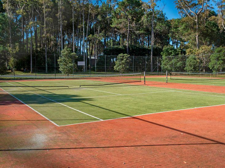 Tennis Courts (200 meters away)