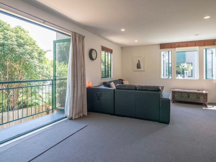 Living Area opening onto balcony