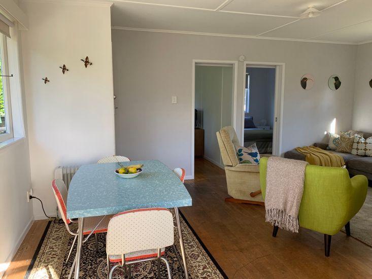 Lounge onto dining area
