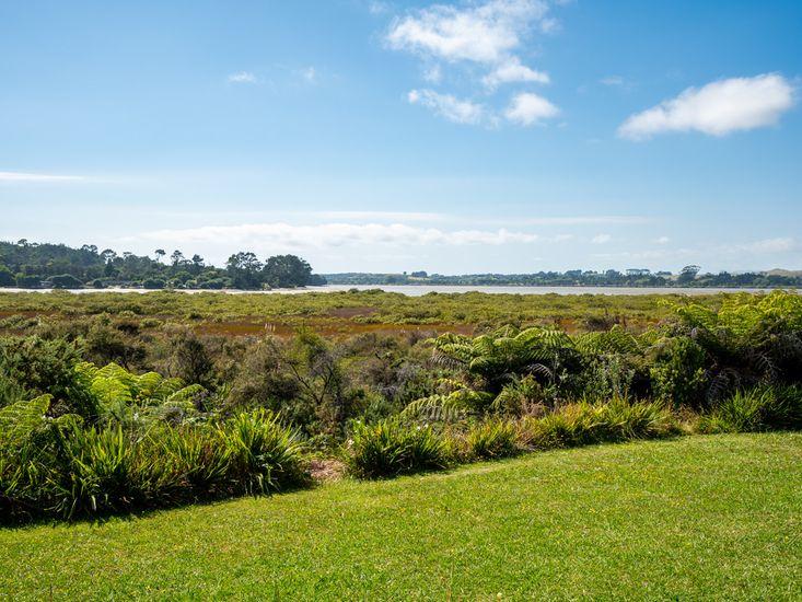 Looking out to Mangawhai estuary