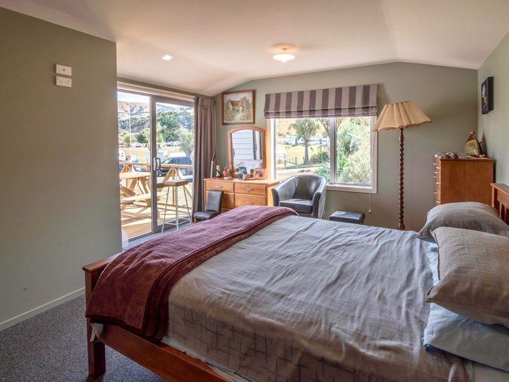 Bedroom One - Opening onto Deck