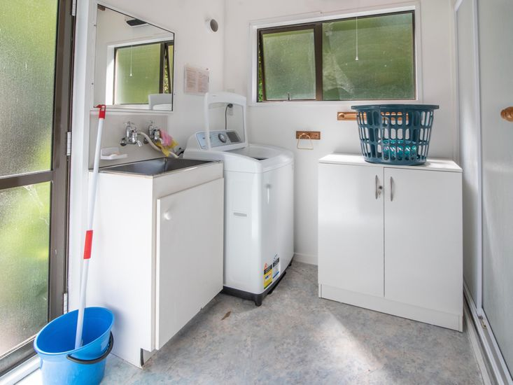 Laundry with Separate Shower
