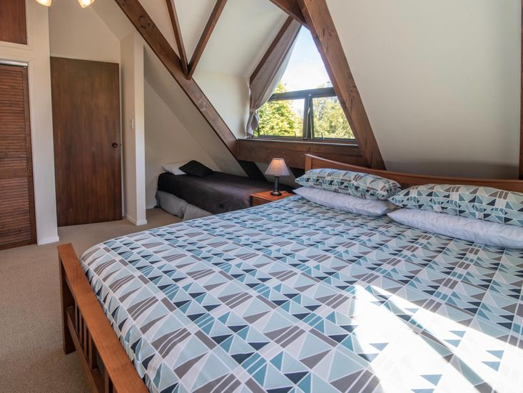 Bedroom Three (single bed only suitable for a toddler)