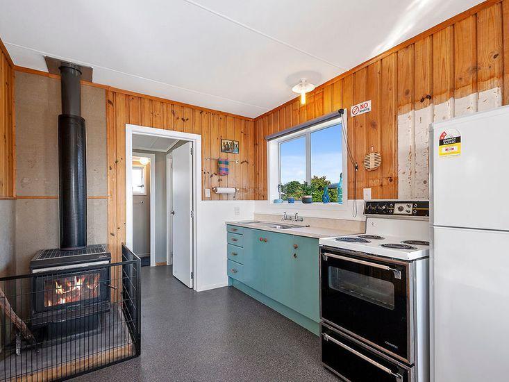 Fireplace to keep the whole house warm