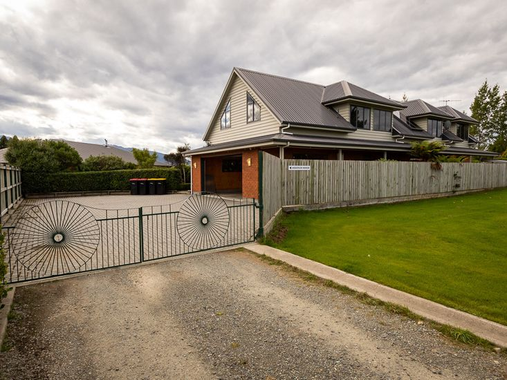 Exterior - Fully fenced with large parking space