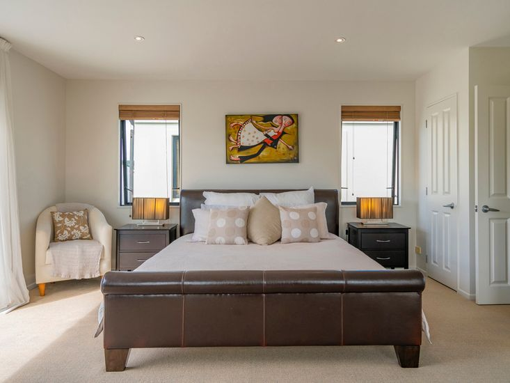 Bedroom One with luxurious Super King bed