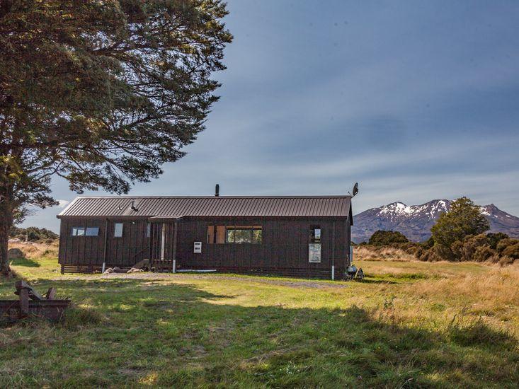 Exterior and views of Mt Ruapehu