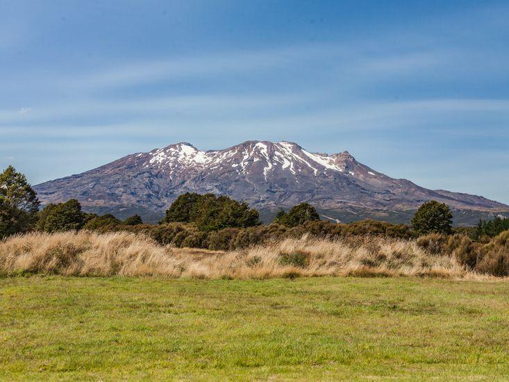 Uninterrupted view of Mt Ruapehu