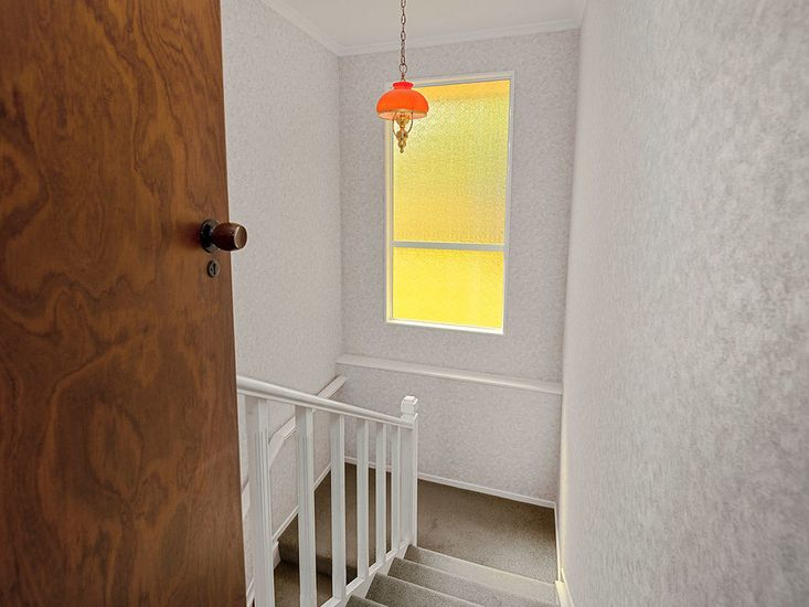 Stairwell - access to the lower level