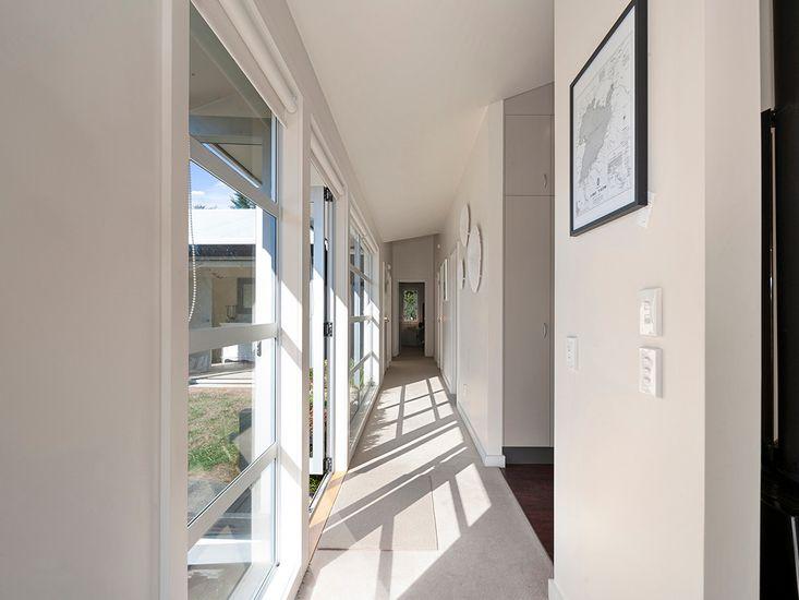 Hallway onto bedrooms