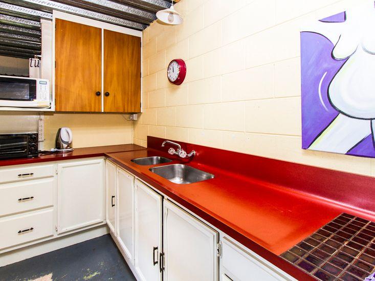 Second Kitchen - Downstairs